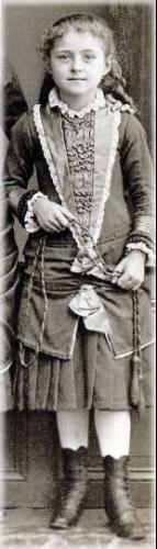 Teresa all'età di 8 anni