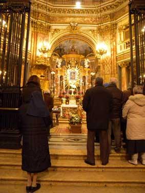 Santuario della Consolata. Celebrazione del rito Funebre